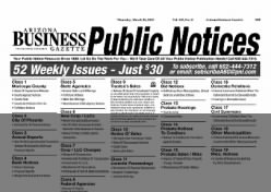 Arizona Business Gazette