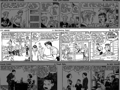 Li'l Abner Comic and the infamous Sadie Hawkins' Day
