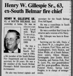 Published in Asbury Park Press; Tuesday, 30 April 1996; Page 10