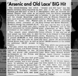 News Article - Arsenic and Old Lace