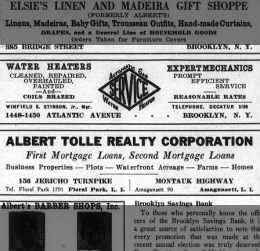Winfield Scott, Jr. and Water Heaters March 1926