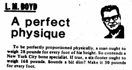 How to Have a Perfect Physique