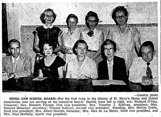 st Mary Home & School-1954