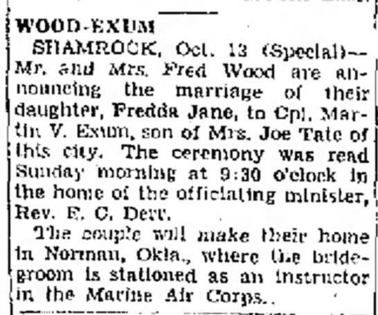 Amarillo Daily News14 Oct 1943