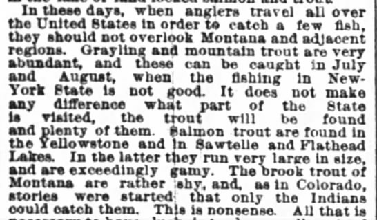 1890 anglers trael across US to go fishing