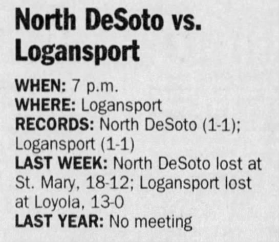 Sep 17 Logansport preview