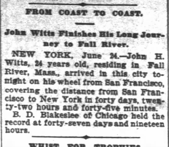 Witts, SF Chron, 25 June1896 p. 3