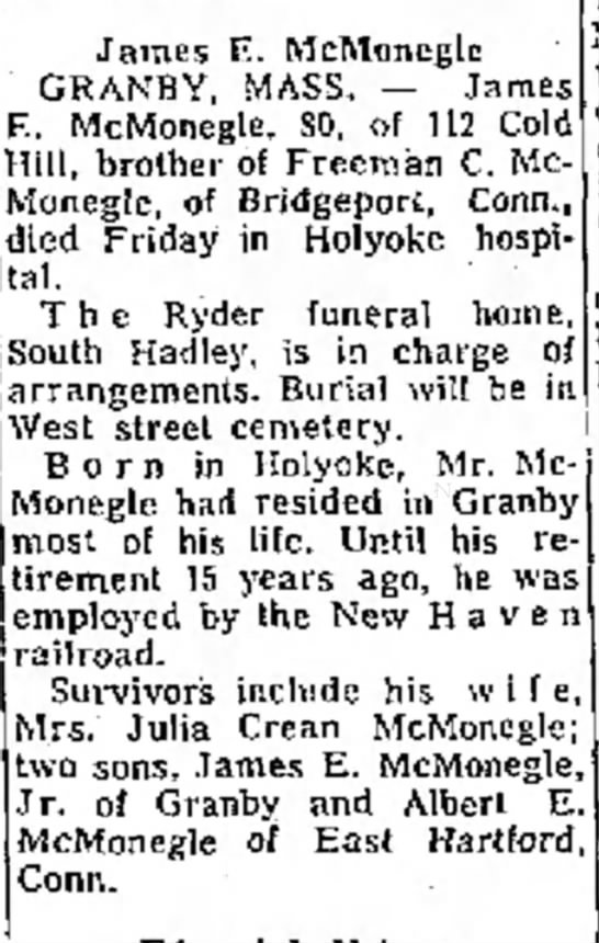 The Bridgeport Telegram, Bridgeport, CN 10 Feb 1970