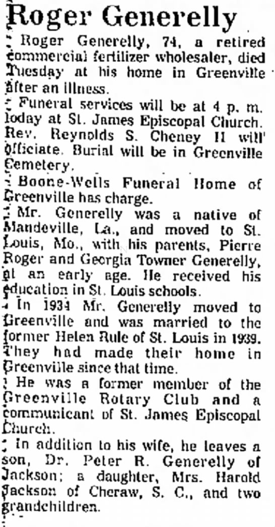 Mid-Delta Obituaries