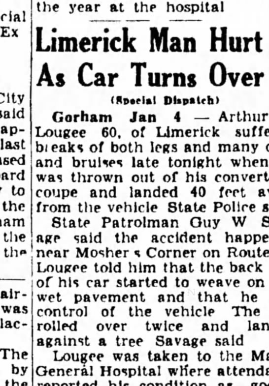 Portland Sunday Press Herald 1/5/1950