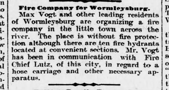 Worm 99-11-23 to form fire co