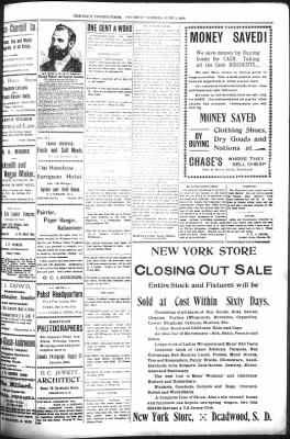 The Daily Deadwood Pioneer-Times from Deadwood, South Dakota on June 1, 1899 · Page 3