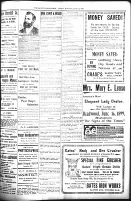 The Daily Deadwood Pioneer-Times from Deadwood, South Dakota on June 16, 1899 · Page 3