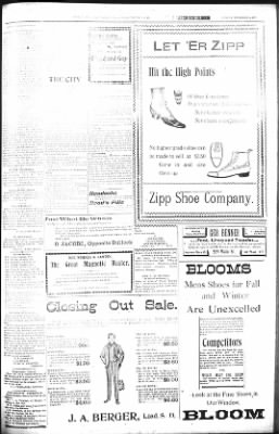 The Daily Deadwood Pioneer-Times from Deadwood, South Dakota on December 9, 1900 · Page 5