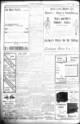 The Lead Daily Pioneer-Times from Lead, South Dakota on July 1, 1900 · Page 8