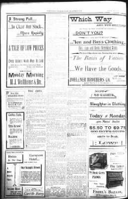 The Lead Daily Pioneer-Times from Lead, South Dakota on August 26, 1900 · Page 8