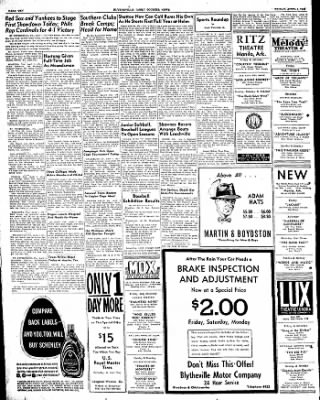 The Courier News from Blytheville, Arkansas on April 1, 1949 · Page 12