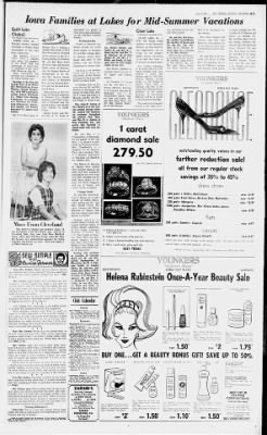 The Des Moines Register From Iowa On July 14 1963 Page