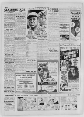 The Daily Clintonian from Clinton, Indiana on December 9, 1936 · Page 6