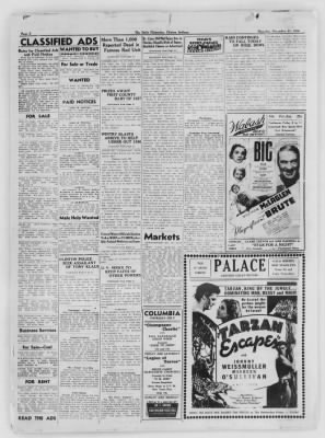 The Daily Clintonian from Clinton, Indiana on December 31, 1936 · Page 8