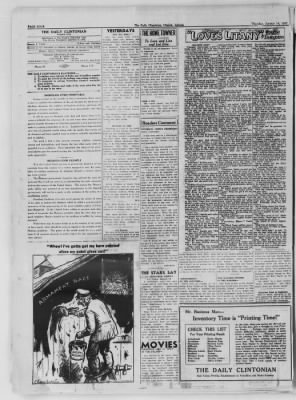 The Daily Clintonian from Clinton, Indiana on January 14, 1937 · Page 4