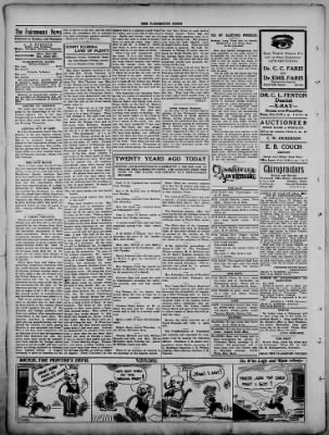 The Fairmount News from Fairmount, Indiana on March 2, 1922 · Page 2