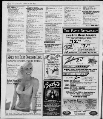 The Palm Beach Post from West Palm Beach, Florida on March 27, 1998 · Page 112