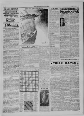 The Daily Clintonian from Clinton, Indiana on October 6, 1944 · Page 6
