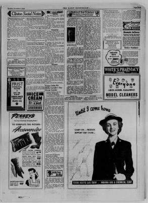 The Daily Clintonian from Clinton, Indiana on November 7, 1944 · Page 3