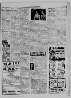 The Daily Clintonian from Clinton, Indiana on November 17, 1944 · Page 3