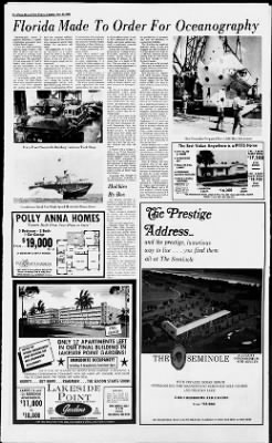 The Palm Beach Post from West Palm Beach, Florida on November 10, 1968 · Page 78