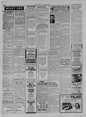 The Daily Clintonian from Clinton, Indiana on December 11, 1944 · Page 6