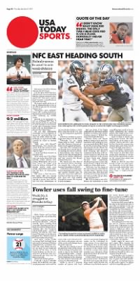 Democrat and Chronicle from Rochester, New York on October 22, 2015 · Page D8