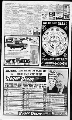 The Palm Beach Post from West Palm Beach, Florida on November 23, 1968 · Page 34