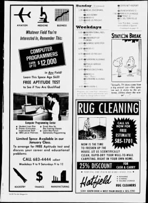 The Palm Beach Post from West Palm Beach, Florida on November 24, 1968 · Page 112