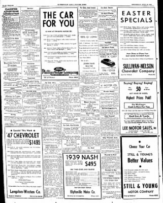 The Courier News from Blytheville, Arkansas on April 13, 1949 · Page 12