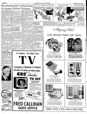 The Courier News from Blytheville, Arkansas on December 22, 1952 · Page 2
