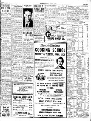 The Courier News from Blytheville, Arkansas on April 23, 1938 · Page 3