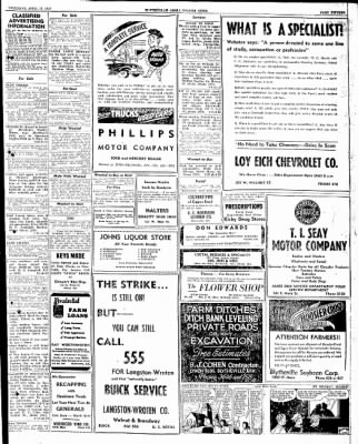 The Courier News from Blytheville, Arkansas on April 17, 1947 · Page 15