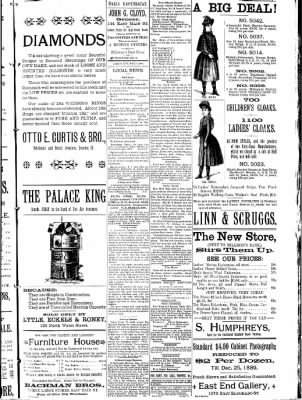 Decatur Daily Republican from Decatur, Illinois on December 6, 1889 · Page 8