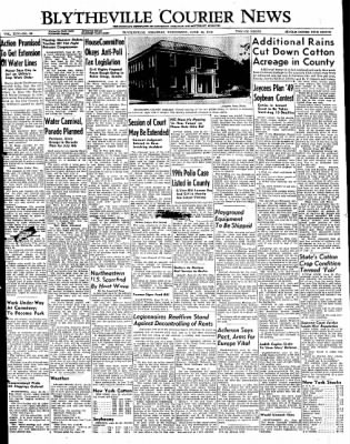 The Courier News from Blytheville, Arkansas on June 22, 1949 · Page 1