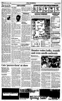 The Kokomo Tribune from Kokomo, Indiana on June 7, 1998 · Page 12