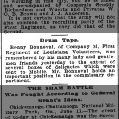 12 June 1898 Times-Picayune
