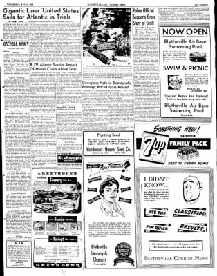 The Courier News from Blytheville, Arkansas on May 14, 1952 · Page 11