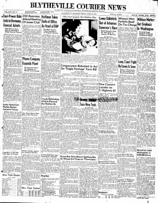 The Courier News from Blytheville, Arkansas on April 9, 1948 · Page 1