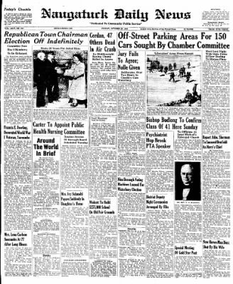 Naugatuck Daily News from Naugatuck, Connecticut on October 28, 1949 · Page 1