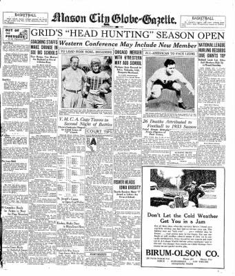 The Mason City Globe-Gazette from Mason City, Iowa on December 7, 1933 · Page 13