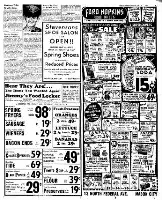 The Mason City Globe-Gazette from Mason City, Iowa on February 25, 1954 · Page 9