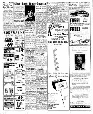 The Mason City Globe-Gazette from Mason City, Iowa on August 21, 1952 · Page 28