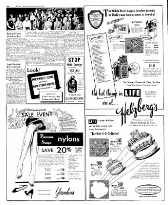 The Mason City Globe-Gazette from Mason City, Iowa on August 25, 1952 · Page 18